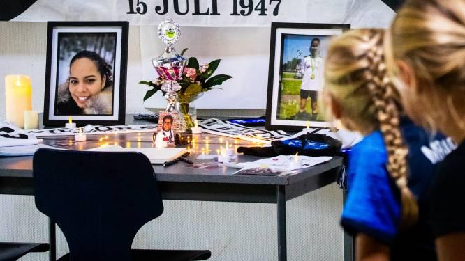 Voetbalclub Wieldrecht herdenkt Maryori en Nicolle: 'Hoe kun je je kind dit vertellen?'