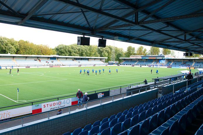 Het Jan Louwers Stadion, thuisbasis van FC Eindhoven