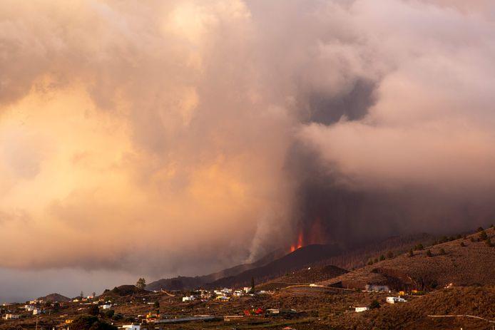 Beelden van de afgelopen dagen van de vulkaanuitbarsting op La Palma.