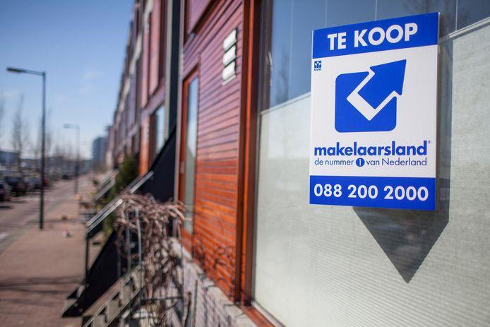Huis te koop aan de Borneokade in Amsterdam.