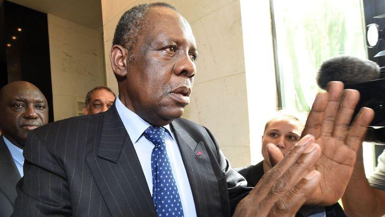 CAF-voorzitter Issa Hayatou. Beeld afp