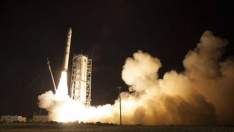 De lancering van de Lunar Atmosphere and Dust Environment Explorer (LADEE) Beeld AP