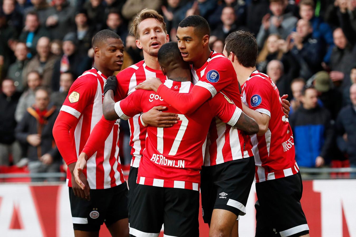 PSV viert een treffer tegen Fortuna Sittard