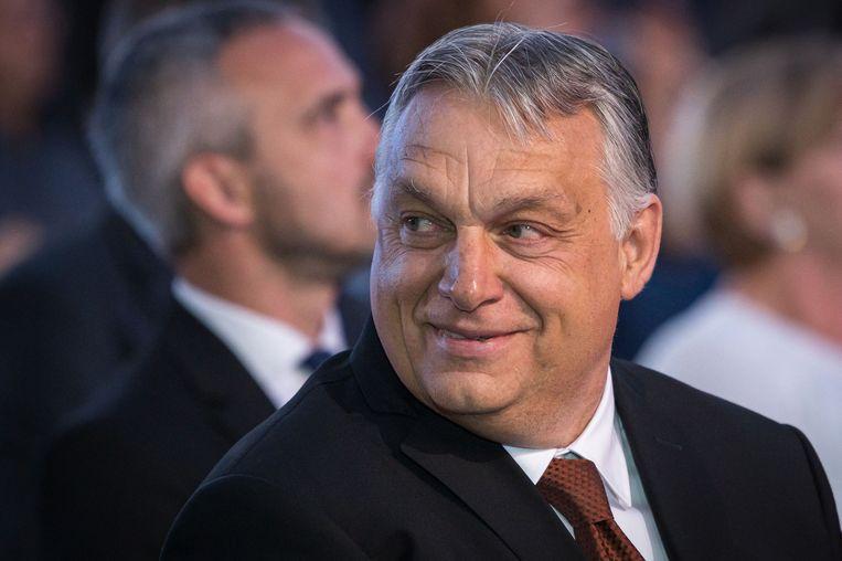 De Hongaarse premier Viktor Orbán. Beeld AFP