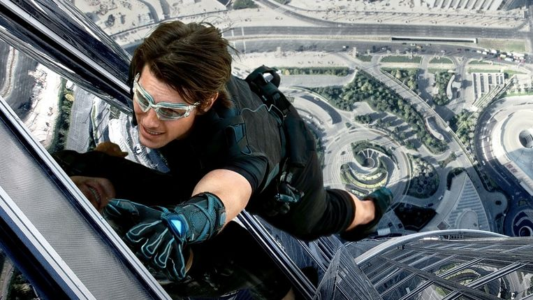 Tom Cruise in Mission: Impossible - Ghost Protocol. Beeld geen