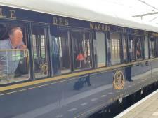 Wereldberoemde Oriënt Express maakt korte tussenstop van vier minuten op station Roosendaal