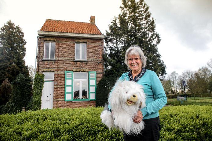 Lutgard woont in het huis van Samson & Gert