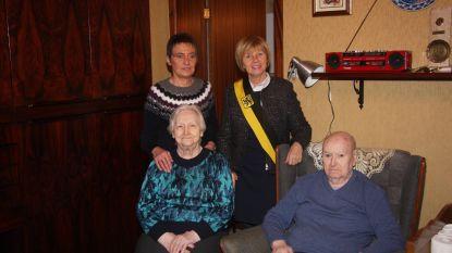 Gustaaf en Anna vierden 65ste huwelijksverjaardag