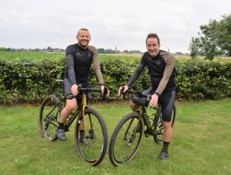 Schoonbroers Mike en Peter rijden Belgische grens af om geld op te halen voor Katse scouts