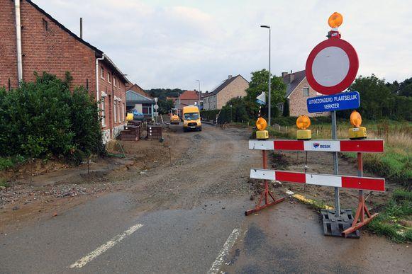 Het dorp van Nieuwrode.
