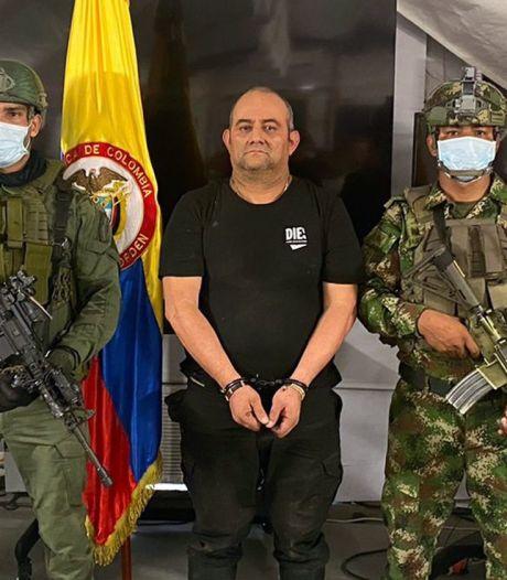 """Arrestation d'""""Otoniel"""", le plus grand narcotrafiquant colombien, un policier tué dans l'opération"""