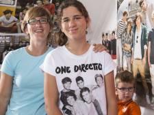 Michelle (12) zet het op een gillen bij One Direction