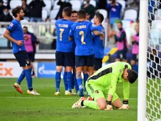 Ondanks goal De Ketelaere, zit álles tegen in deze Final Four: Rode Duivels ook tegen Italië onderuit