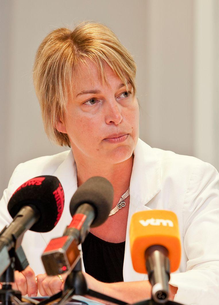 Vlaams minister Joke Schauvliege. Beeld BELGA