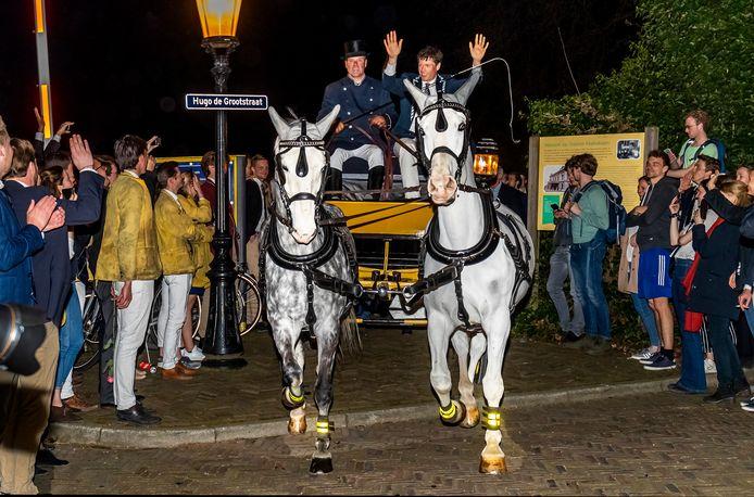 De Utrechtsche Studenten Roeivereeniging Triton heeft de Varsity gewonnen op het Amsterdam-Rijnkanaal. Voor het eerst in 52 jaar ging de Utrechtse club met de titel aan de haal in de universiteitsroeiwedstrijd.