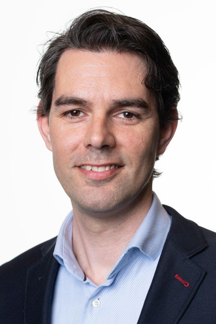 Stijn Roeles, nu nog Statenlid van FvD Brabant.