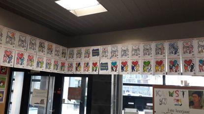 Herken jij alle schilderijen? Bibliotheek De Panne creatief tijdens de jeugdboekenweek