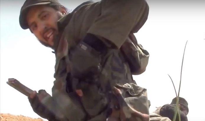 Syriëstrijder Yamoun Feisal.
