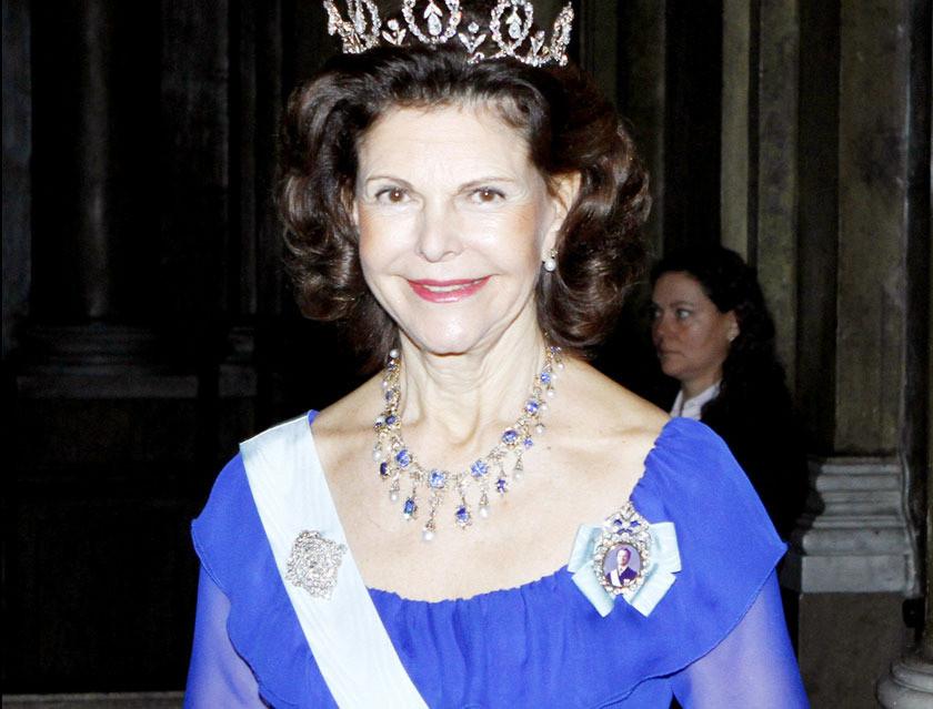 Koningin Silvia was als kind de beste maatjes met een aapje.