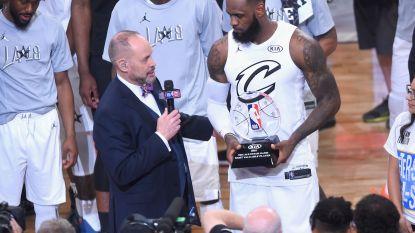 """Team van LeBron James verslaat dat van Stephen Curry: """"Men wou het All-Star Game nieuw leven inblazen en dat is gelukt"""""""