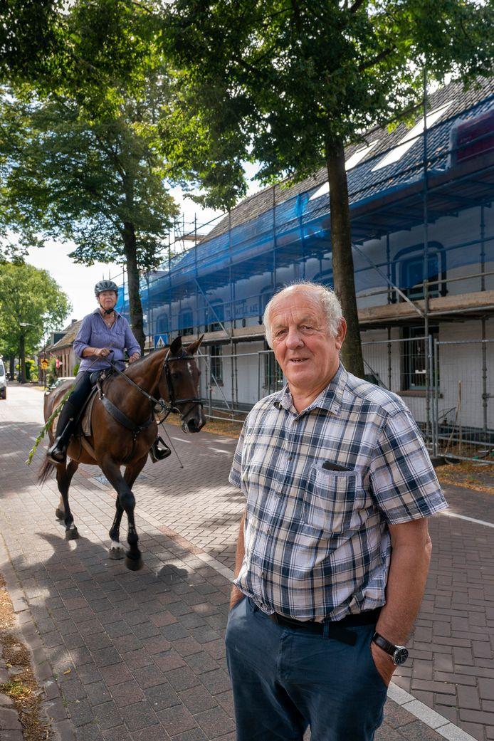 Jan van Empel, voorzitter van de stichting Dorpshuis Battle Axe.