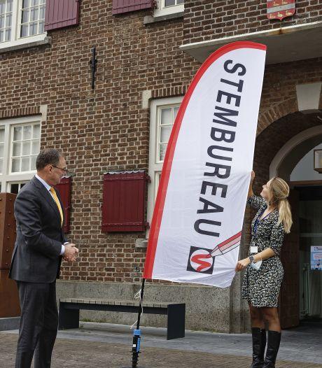 Boxtel stemt in bijzondere coronatijd: geen feest, burgemeester zit morgen in z'n uppie klaar voor de uitslag