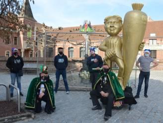 Carnavalisten trekken al op pad met 'Wortelmanneken'