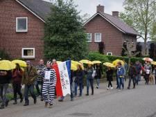Protestmars tegen coronamaatregelen in Sint Anthonis zonder incidenten verlopen