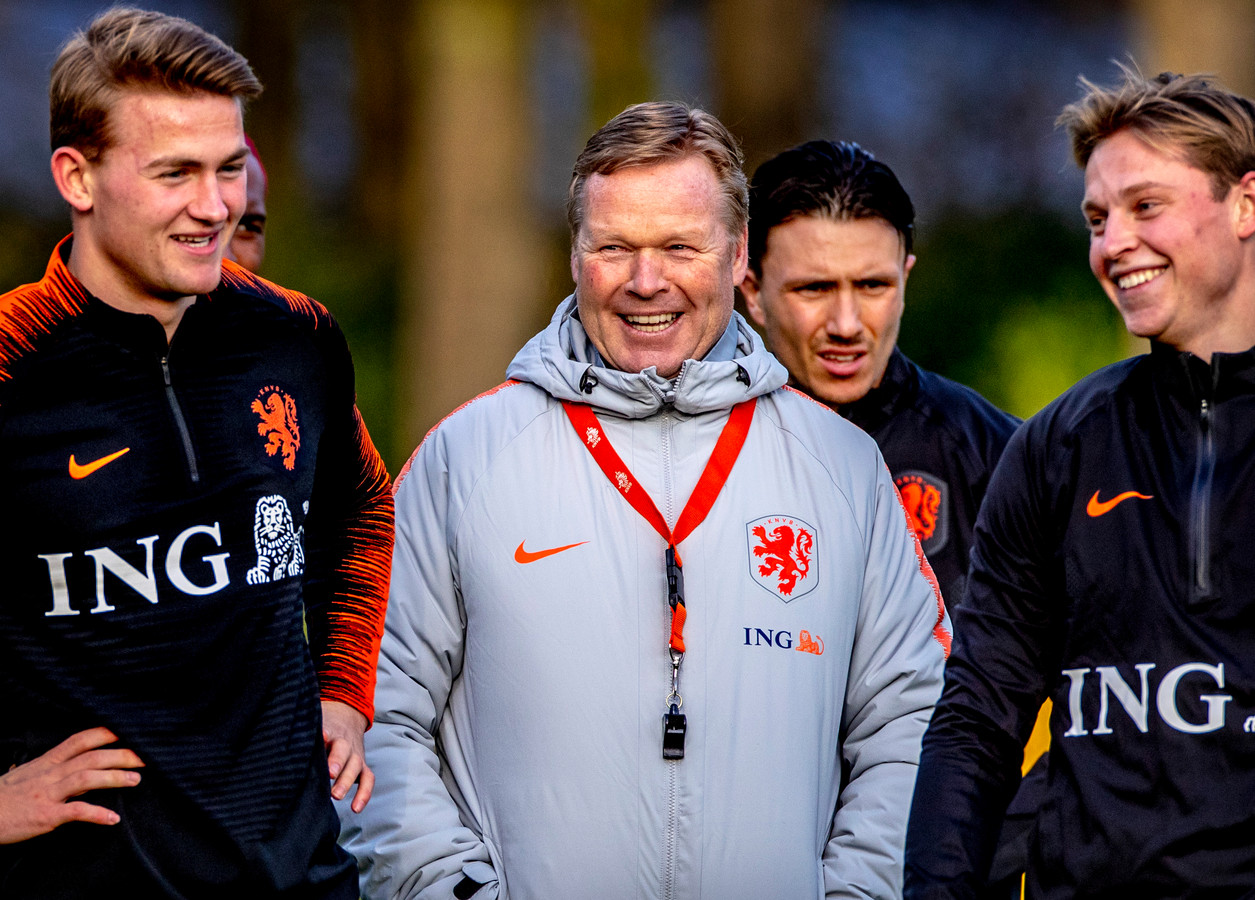 Ronald Koeman is vandaag twee jaar bondscoach van Oranje.