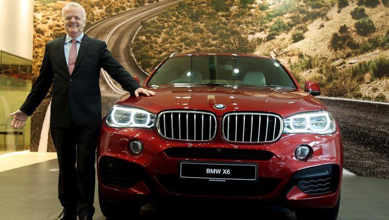 De BMW X6. Beeld EPA