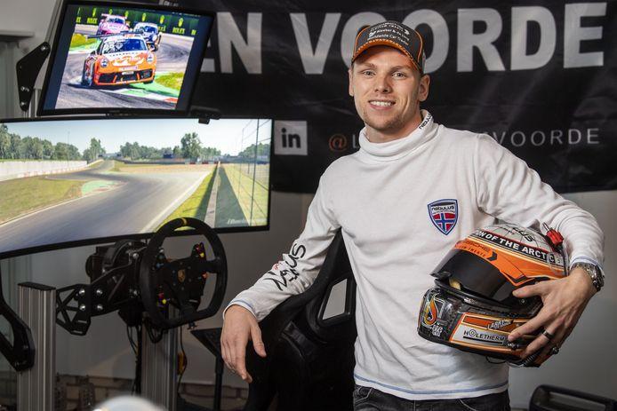 Larry ten Voorde eindigde op de Hungaroring op de tweede plek.