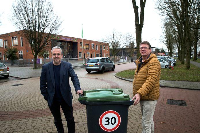 Paul van Dun en Eric Schroorl (rechts).