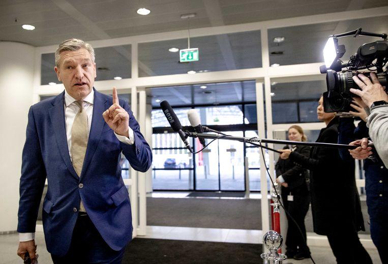Sybrand Buma, burgemeester van Leeuwarden en voormalig CDA-leider. Beeld ANP