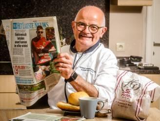 """Ontbijten met HLN-lezer Patrick Vandenberghe (61): """"Ik ga dan wel met pensioen, bakken blijft mijn passie"""""""