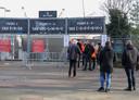 Testwedstrijd met publiek tussen NEC en De Graafschap in De Goffert.