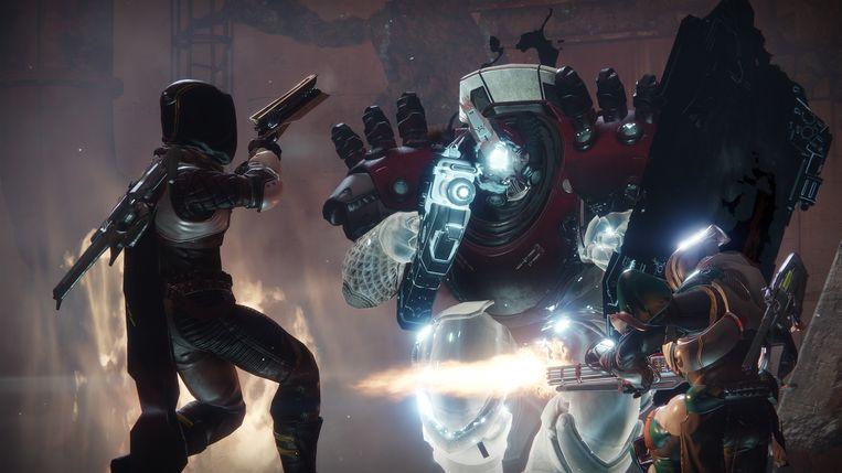 'Destiny 2:' een solide space opera, met veel invloeden. Van Star Wars en Mad Max tot de romans over King Arthur. Beeld Activision