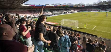 Stadionproef NEC-De Graafschap: lang niet iedereen liet zich hertesten