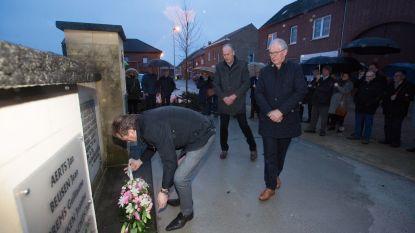"""Riemst herdenkt ramp in groeve Roosburg: """"We vergeten de 18 slachtoffers nooit"""""""