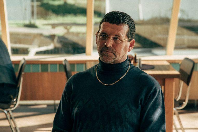 Acteur Mark Rietman in Catacombe.  Beeld Milan van Dril