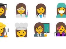 Google wil emoji's van werkende vrouwen