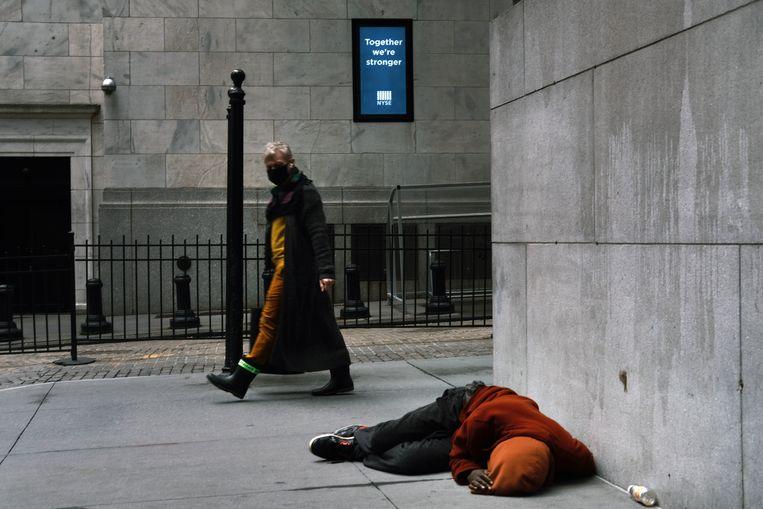 De New York Stock Exchange in Manhattan. Beeld Getty Images