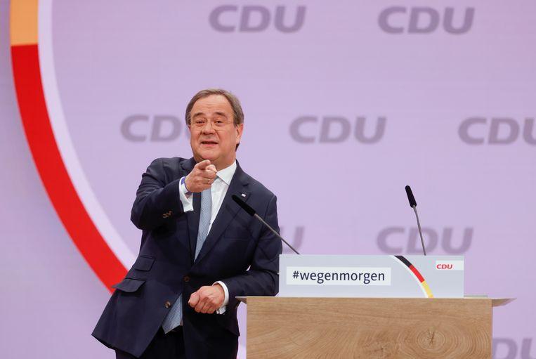Armin Laschet,  premier van Noordrijn-Westfalen. Beeld REUTERS
