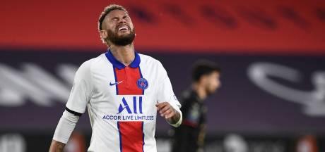 Neymar mist Franse bekerfinale door rode kaart eerder in het seizoen
