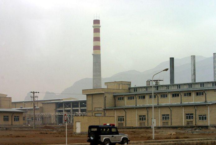 Archiefbeeld. De Iraanse nucleaire installatie in Natanz. (20/11/2004)