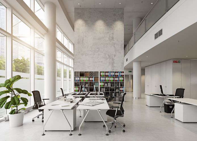 Van een groot aantal lege kantoorruimtes worden woningen gemaakt. Meestal worden het appartementen of studio's.