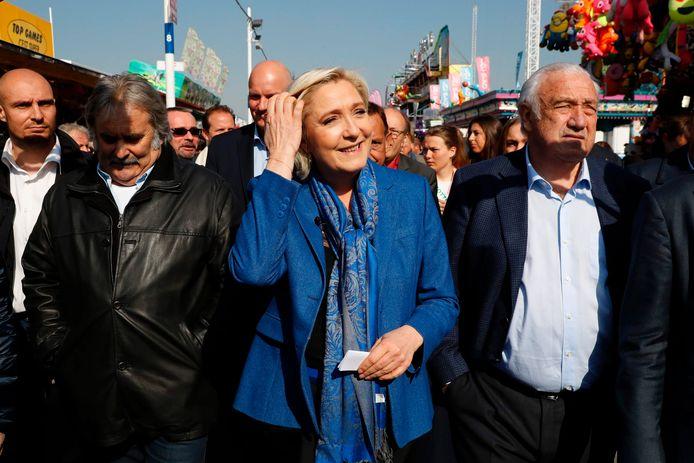 De Franse presidentskandidaat Marine Le Pen.