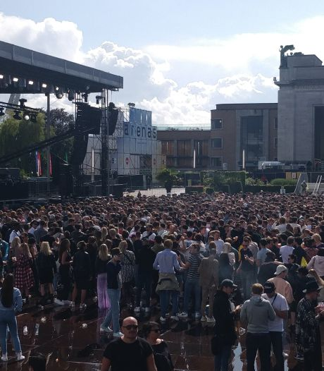Des milliers de fêtards ont dansé à Bruxelles
