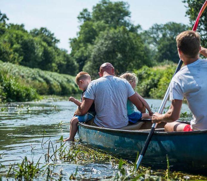 Kayak op de Kleine Nete