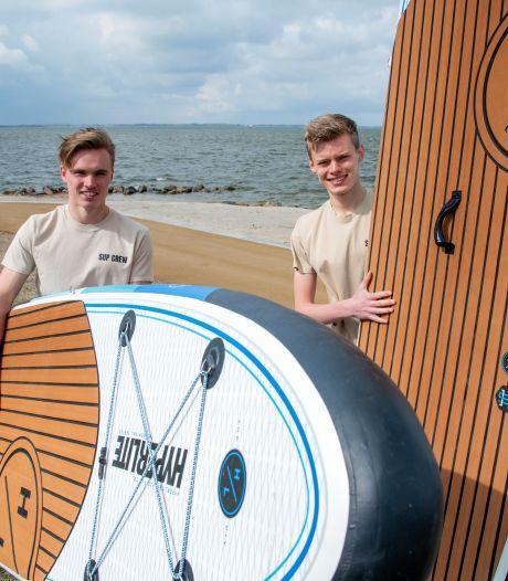 IJsbaan in Harderwijk wordt omgetoverd tot sup-verhuur: eerste stap naar levendige kuststrook