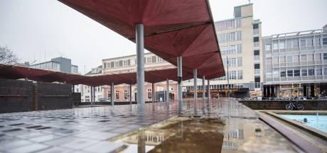 De pergola op het Gele Rijdersplein in Arnhem is nog niet afgeschreven